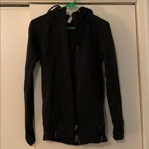 Under Armour black full-zip hoodie w/ pockets